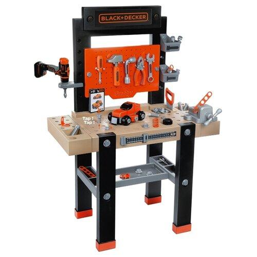 Купить Smoby Мастерская игрушечная Black+Decker (360701), Детские наборы инструментов