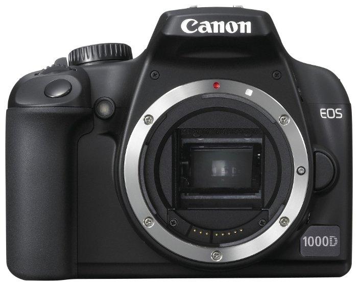 Зеркальный фотоаппарат Canon EOS 1000D body