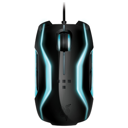 Мышь Razer TRON Gaming Mouse and Mat Black USB