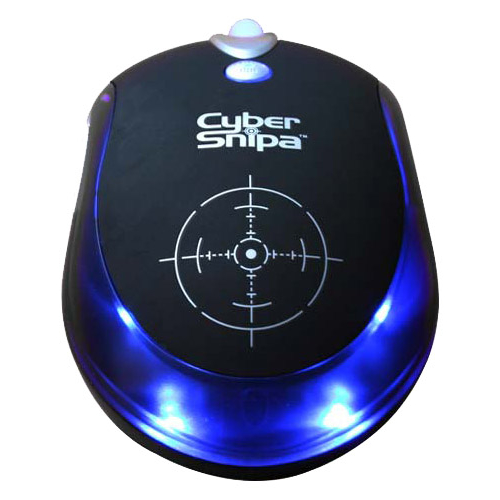 Мышь Cyber Snipa Intelliscope Mouse Black USB