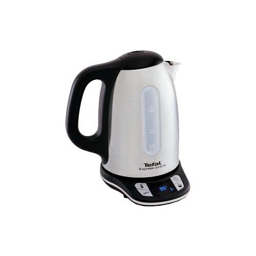 Чайник Tefal KI240D30, нержавеющая сталь/черный чайник tefal k0 1201 дорожный