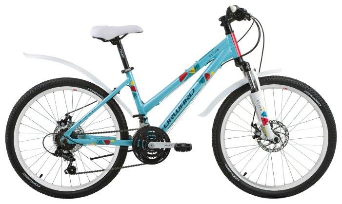 Подростковый горный (MTB) велосипед FORWARD Seido 24 2.0 Disc (2017)