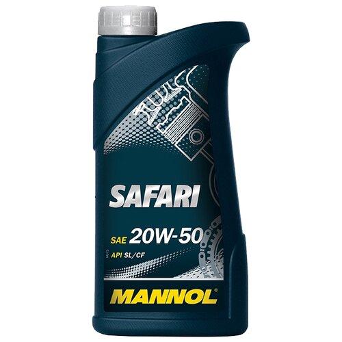 Фото - Минеральное моторное масло Mannol Safari 20W-50 1 л минеральное моторное масло mannol ts 1 shpd 15w 40 10 л