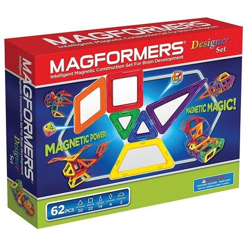 Купить Магнитный конструктор Magformers 63081 Designer Set, Конструкторы
