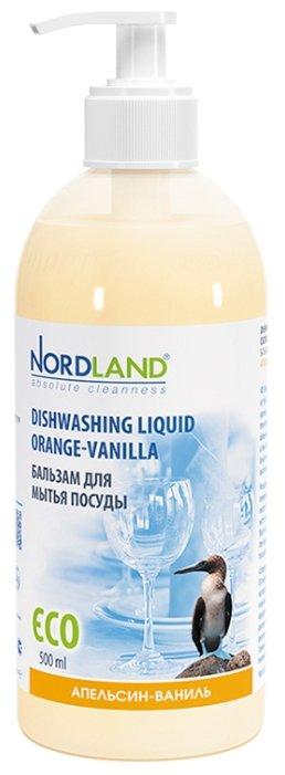 Nordland Бальзам для мытья посуды Апельсин-ваниль