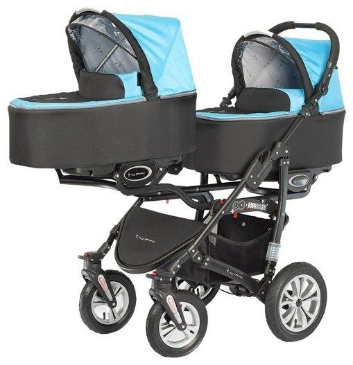 Универсальная коляска BabyActive Twinny (2 в 1)