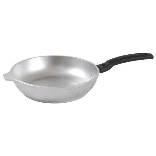 Сковорода Kukmara с246 24 см, серебристый сковорода d 24 см kukmara кофейный мрамор смки240а