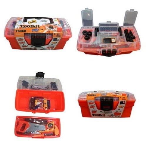 Купить Shantou Gepai Toolkit в чемоданчике, 31 предмет 2140, Детские наборы инструментов