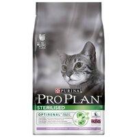 PRO PLAN STERILISED TURKEY 10 кг для взрослых стерилизованных кошек с индейкой сухой корм