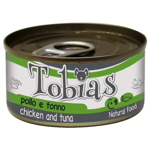 Корм для собак Tobias Chicken and Tuna (0.085 кг) 12 шт.
