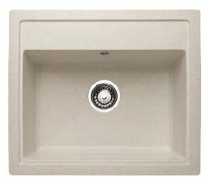Врезная кухонная мойка Granicom G-019 59.5х51.5см искусственный мрамор