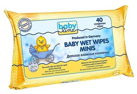 Влажные салфетки BabyLine Baby Wet Wipes Minis