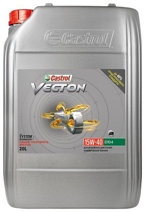 Моторное масло Castrol Vecton 15W-40 20 л