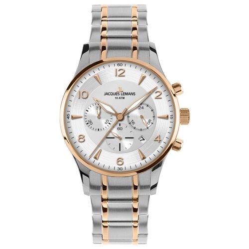 Наручные часы JACQUES LEMANS 1-1654P jacques lemans часы jacques lemans 1 1117bn коллекция liverpool