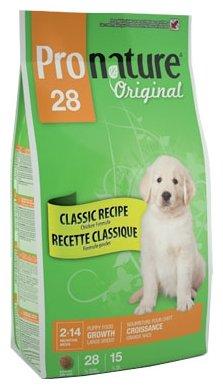 Корм для собак ProNature 28 Classic Recipe Chicken Formula для щенков крупных пород