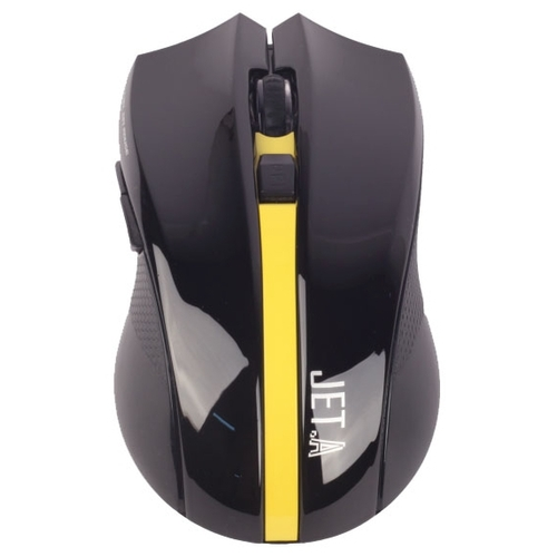 Мышь Jet.A OM-U40G Black-Yellow USB