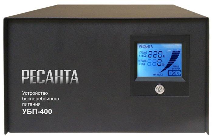 Интерактивный ИБП РЕСАНТА УБП-400