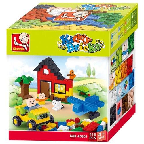 Купить Конструктор SLUBAN Kiddy Bricks M38-B0502, Конструкторы