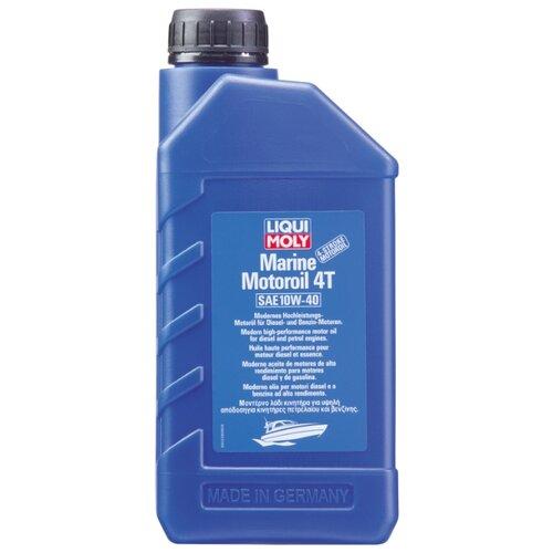 Моторное масло LIQUI MOLY Marine Motoroil 4T 10W-40 1 л цена 2017