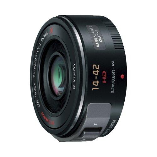 Фото - Объектив Panasonic 14-42mm f/3.5-5.6 Aspherical Power O.I.S. Lumix G X Vario (H-PS14042) черный объектив panasonic lumix h f008e g fisheye 8mm f3 5