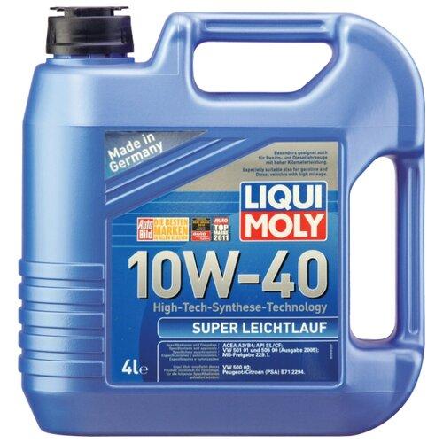 цена на Моторное масло LIQUI MOLY Super Leichtlauf 10W-40 4 л