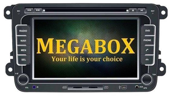 Автомагнитола Megabox VW CE6106