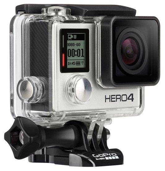 Экшн камера GoPro HERO4 Silver Edition
