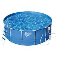 Бассейн каркасный Summer Escapes P20-1452-B (427х132 см, фильтр-насос, полный комплект аксессуаров)
