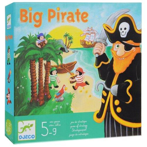 Настольная игра DJECO Большой пиратНастольные игры<br>
