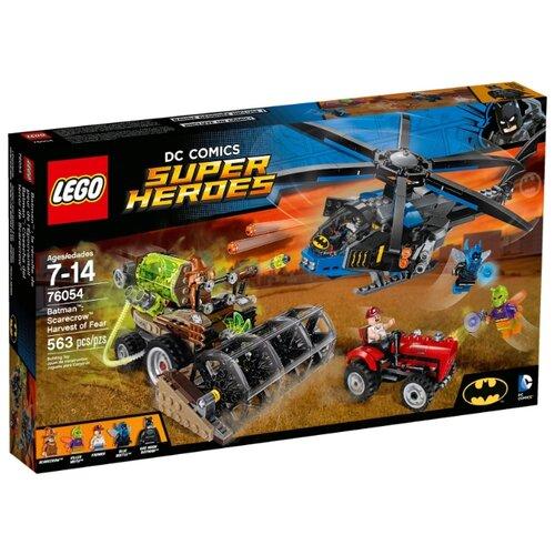 Конструктор LEGO DC Super Heroes 76054 Страшный урожай Пугала конструктор lego dc super hero girls харли квинн спешит на помощь 41231