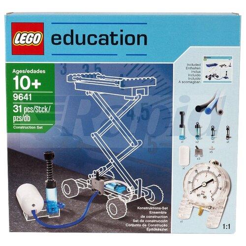 Купить Пневматический конструктор LEGO Education Machines and Mechanisms Пневматика 9641, Конструкторы