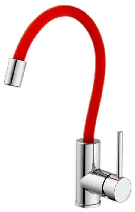 Смеситель для кухни (мойки) IDDIS Kitchen 360 K36SBJ-i05 однорычажный двухцветный