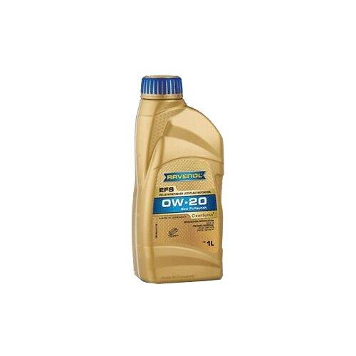 Моторное масло Ravenol EFS EcoFullSynth SAE 0W-20 1 л