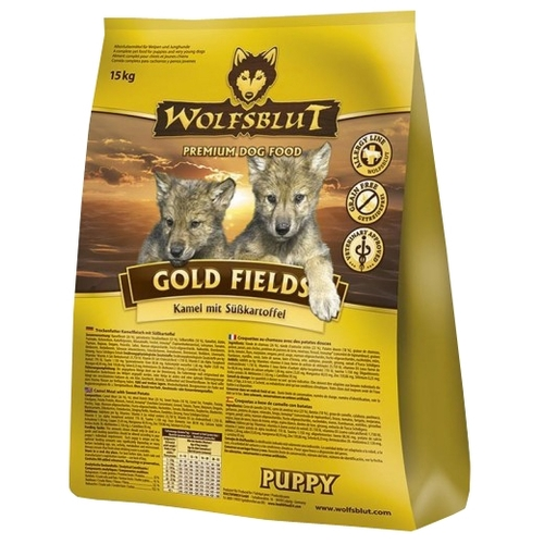 Wolfsblut Gold Fields Puppy (2 кг) Корма для собак