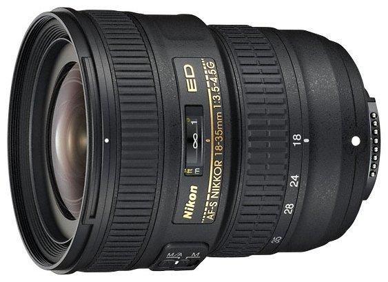 Сравнение с Nikkor 18-35mm f/3.5-4.5G ED AF-S