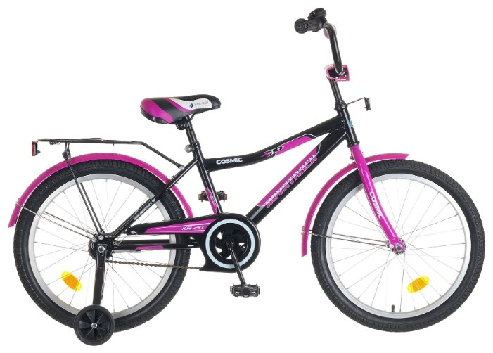 Детский велосипед Novatrack Cosmic 20 Girl (2014)