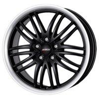 Колесный диск Alutec Black Sun 8x17/5x105 D56.6 ET40 Racing Black Lip Polished