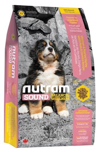 Корм для собак Nutram S3 Для щенков крупных пород
