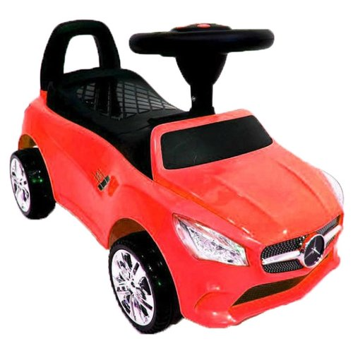 Купить Каталка-толокар RiverToys Mercedes JY-Z01C со звуковыми эффектами красный, Каталки и качалки
