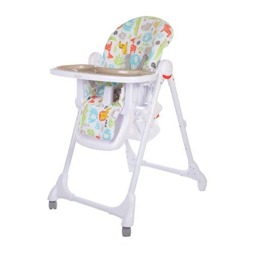 Купить Стульчик для кормления Baby Care Fiesta серый, Стульчики для кормления
