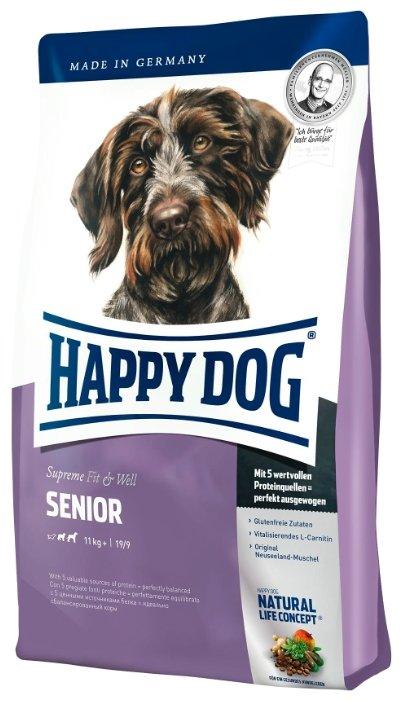 Корм для собак Happy Dog Supreme Fit&Well - Senior для пожилых собак средних и крупных пород