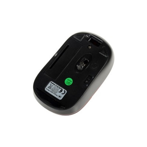 Мышь DNS HOME SLW-004BRQ Black-Red USB