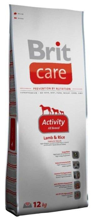 Корм для собак Brit Care Activity All Breed Lamb & Rice