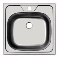 Врезная кухонная мойка UKINOX Classic CLM 480.480--T6K 0C