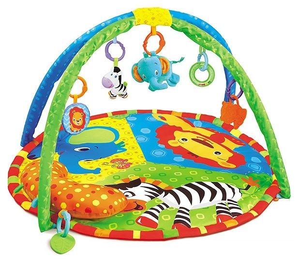 Развивающий коврик funkids delux play gym giraffe