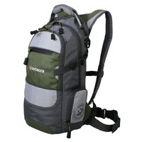 """Рюкзак WENGER """"NARROW HIKING PACK"""", цвет серый/серебр./зеленый (13024415)"""