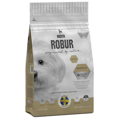 Bozita (3.2 кг) Robur Sensitive Grain Free Chicken Корма для собак