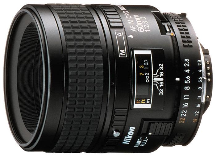 Объектив Nikon 60mm f/2.8D AF Micro-Nikkor