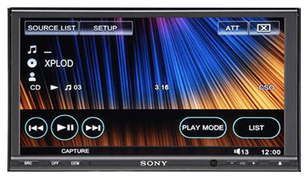 Автомагнитола Sony XAV-W1