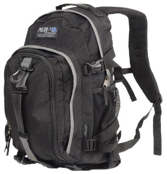 Рюкзак Polar П955Ж-05 черный №322 молодежный Черный 21 л